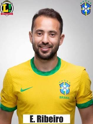 Éverton Ribeiro - 7,5 - Ocupou a vaga deixada por Vinícius Jr no começo da segunda etapa e mudou o ânimo da equipe. Deu mais qualidade e foi premiado com um gol no rebote do chute de Neymar.