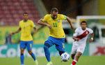 Everton Ribeiro, Brasil x Peru, Eliminatórias 2022,