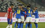 Everton Ribeiro, Chile x Brasil, Eliminatórias da Copa 2022,