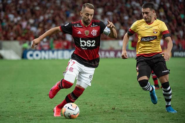 EVERTON RIBEIRO - Flamengo (C$ 5,00): o preço acessível em uma equipe que costuma marcar muitos gols é muito convidativo. Uma assistência deve ser suficiente para fazê-lo valorizar.