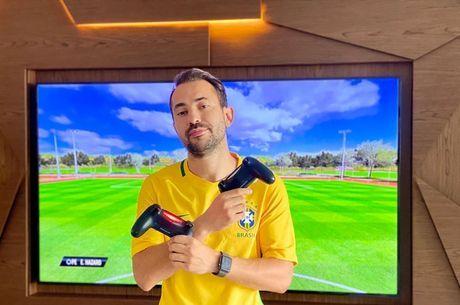 Everton Ribeiro, do Fla,  já um craque dos videogames