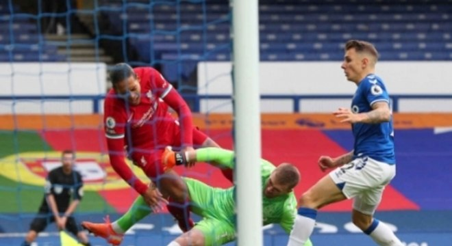Everton x Liverpool - Lesão Van Dijk