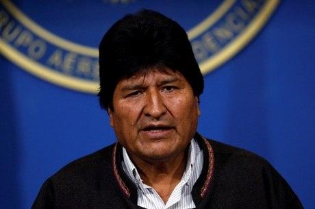 Evo Morales se pronunciou no Twitter