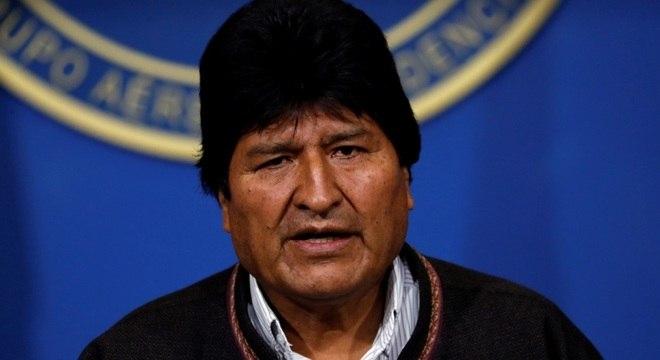 Evo Morales renunciou ao cargo de presidente
