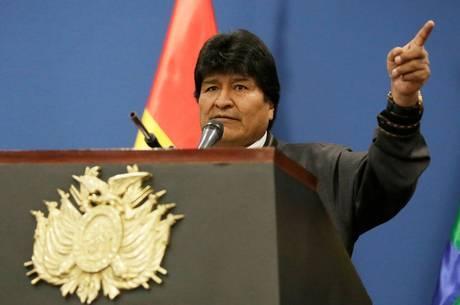 Morales pede que América Larina se una contra EUA