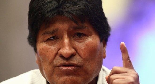 Ex-presidente Evo Morales está exilado na Argentina desde sua renúncia