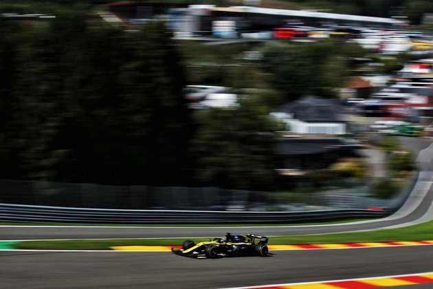 Evolução do motor francês é evidente numa pista como Spa (Foto: Renault)