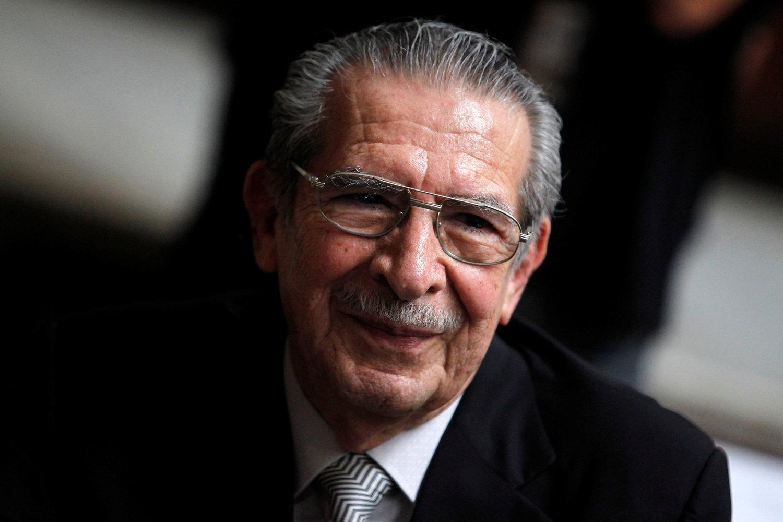 Morre ex-ditador guatemalteco Ríos Montt