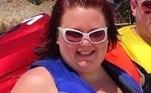 Julie revelou que seu peso começou a aumentar como efeito colateral da medicação que estava tomando para tratar seu transtorno bipolar