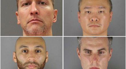 Justiça Federal indicia 4 policiais por morte de Floyd