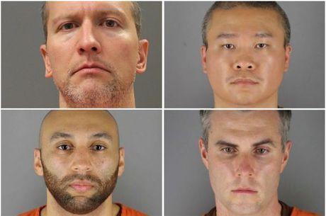 Os 4 policiais envolvidos na morte de Floyd
