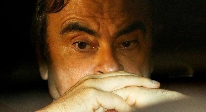 Ghosn tornou-se um fugitivo internacional após fugir do Japão para o Líbano