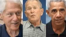 EUA: ex-presidentes, menos Trump, promovem campanha de vacinação