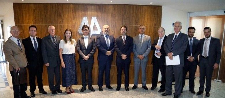 Encontro aconteceu na sede da Apamagis, nesta segunda-feira (13), em São Paulo