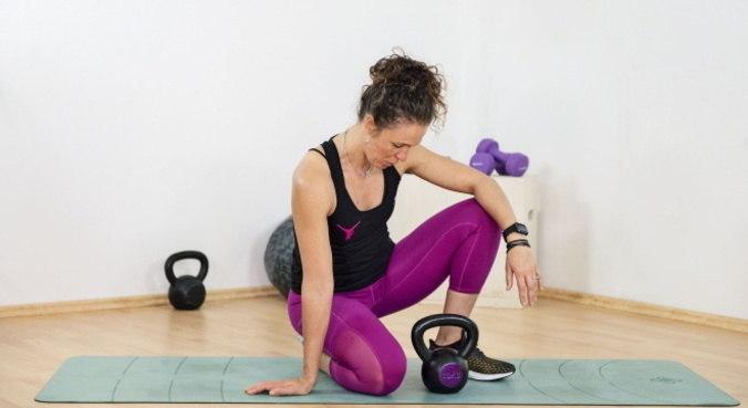 Manutenção de exercícios físicos mesmo em isolamento em casa