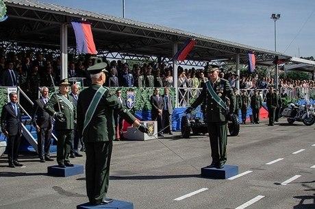 General Amaro assume Comando Militar do Sudeste