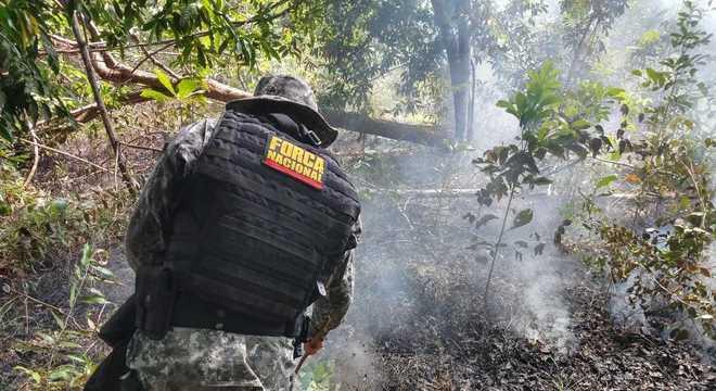 Força Nacional vai permanecer mais 90 dias em terra indígena no Pará