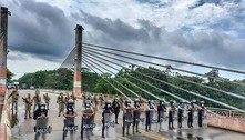 Peru usa exército para barrar a entrada de haitianos no país