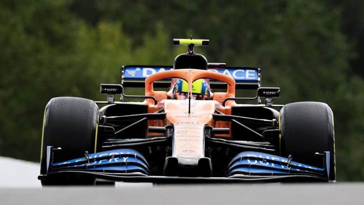 Expectativa para a corrida é superar não apenas as Racing Point, mas batalhar com Renault e, quem sabe, Albon (Foto: McLaren)