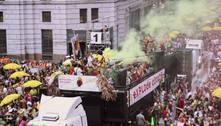 Sem poder ir às ruas, blocos fazem intervenções artísticas no Carnaval
