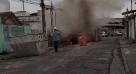 Duto explode na zona norte de São Paulo