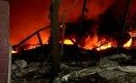 Segundo a contagem das autoridades, cerca de 700 casas e 15veículos foram danificados pela explosão