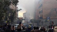 Forte explosão atinge prédios no centro de Madri