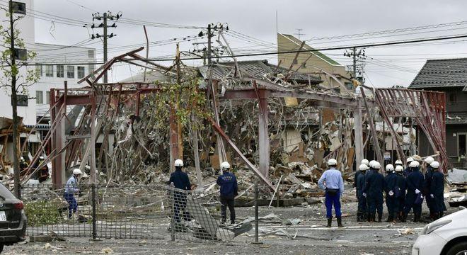 Local ficou totalmente destruído