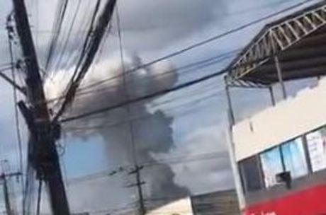 Explosão em fábrica de fogos de artifício em Simões Filho (BA)