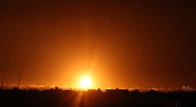 Israel realizou novos ataques contra a Faixa de Gaza