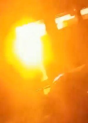 Imagens mostram explosão provocada por homem em Fartura