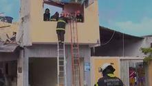 Botijão de gás explode, destrói casas e fere 7 pessoas em Natal