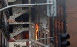 Uma forte explosão no centro de Madri, na Espanha, deixou ao menos três mortos e onze feridos nesta quarta-feira (20)
