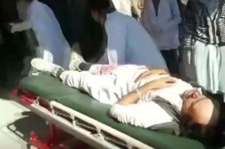 Mais de 55 pessoas foram feridas no incidente