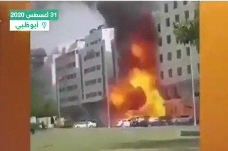Explosão de gás  destruiu restaurante em Dubai
