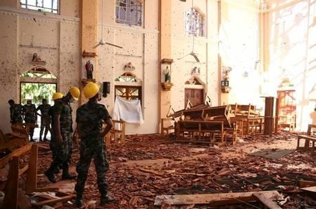 Número de mortos em atentado cai para 253