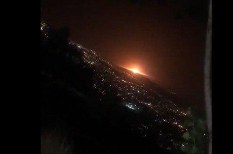 Explosão aconteceu em depósito de gás