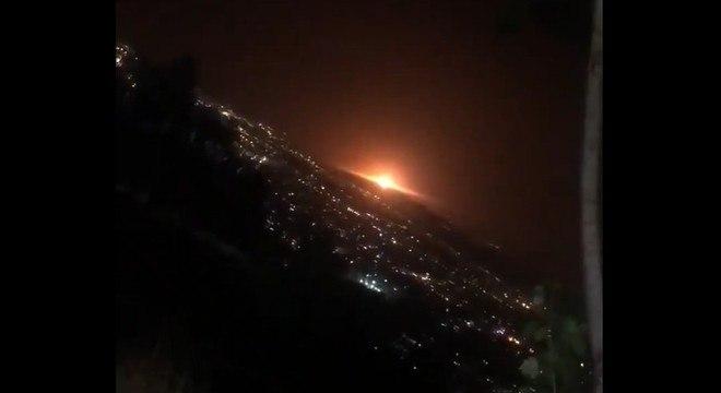 Explosão na região leste de Teerã foi registrada por moradores