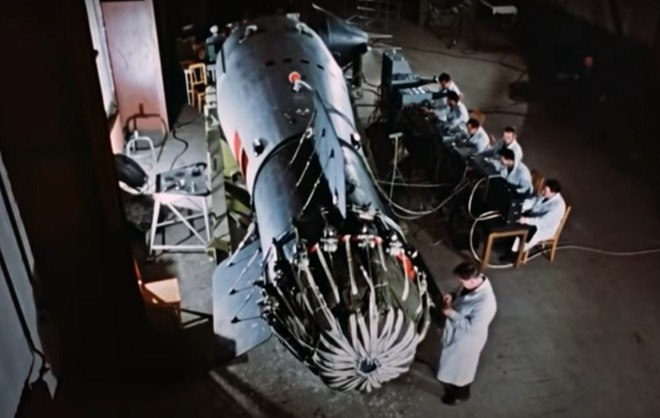 O dispositivo original tinha 57 megatons (equivalente a 57 milhões de toneladas de explosivos convencionais), mas a bomba de teste teve seu poder reduzido para 50 megatons, para evitar a propagação massiva de radiação
