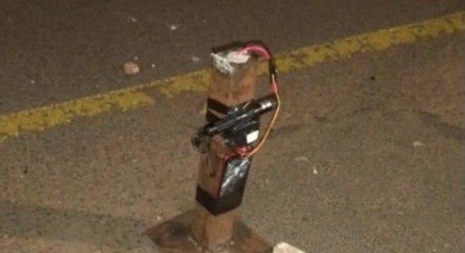 Rapaz de 25 anos é atingido por explosivo e perde os dois pés