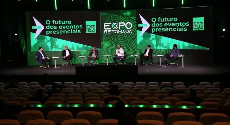 Expo Retomada será primeiro evento-teste oficial com até 2 mil pessoas em 2 dias em Santos