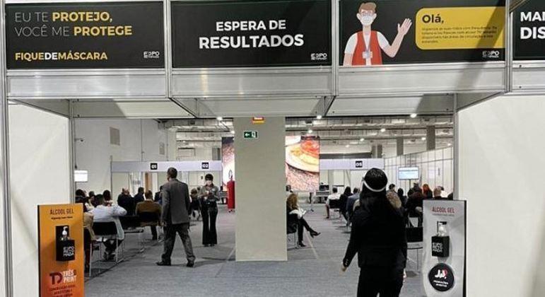 Expo Retomada é o 1º de 30 eventos-teste previstos no semestre no estado de SP