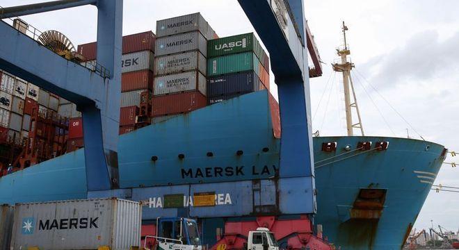 Houve alta de 25,8% na média diária das exportações