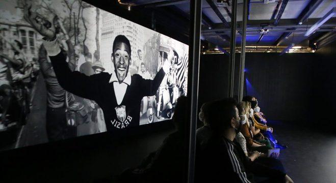 Exposição 'Pelé 80' começa nesta quinta e vai até 15 de abril, no Museu do Futebol