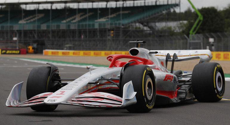 Apresentação do modelo de carro de Fórmula 1 para 2022