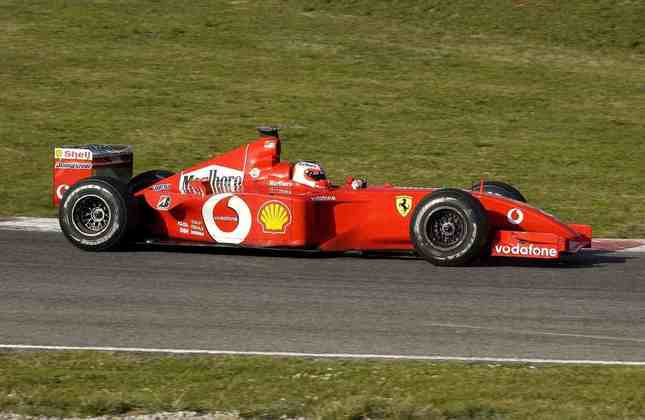 F2002: naquela temporada, o pior resultado de Michael Schumacher foi uma terceira colocação na Malásia