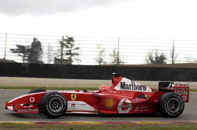 F2004: o carro de 2004 ficou marcado como o último do título de Michael Schumacher no time
