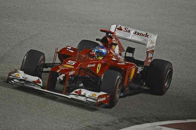 F2012: o carro de 2012 também não ajudou muito na beleza