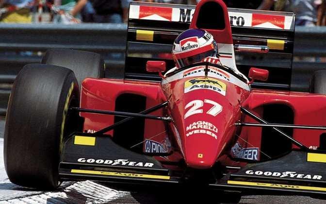 F93A: em 1993, Jean Alesi e Gerhard Berger pilotaram uma Ferrari bastante esquisita