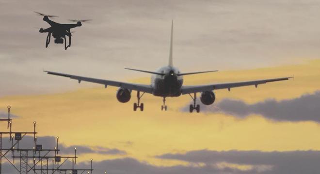 Voar drone próximo a aeroporto é crime que prevê de 2 a 5 anos de prisão